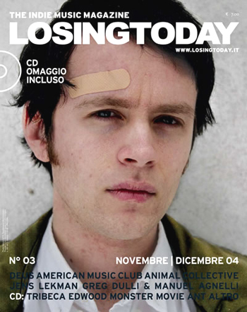 Losing Today #3 - with a Jens Lekman interview by ebi+ellegi