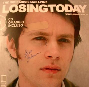 Jens Lekman, crying autograph