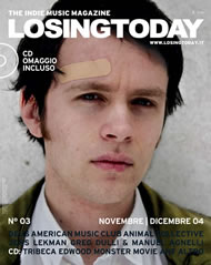 Jens Lekman on the cover of Losing Today magazine #3
