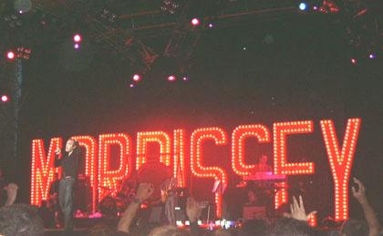 Morrissey, live in Bologna, 13/06/2004 - foto by Arturo