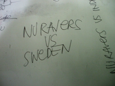 nuravers VS Sweden